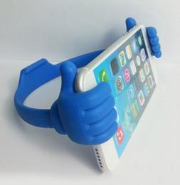 $enCountryForm.capitalKeyWord Australia - IVYSHION Universal Phone Holder Thumbs-shaped Stand Bracket Holder Mount For Ipad IPhoneX 7 6 5 5S Tablets