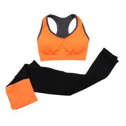 Workout Gym Leggings UK - 2Pcs Women Seamless Sports Bra+Pants Leggings Set Yoga Fitness Workout Running Gym Training Exercise Tracksuit Accessories #980698