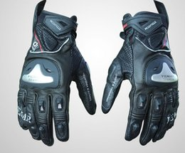$enCountryForm.capitalKeyWord Australia - VEMAR road racing gloves winter skiing waterproof warm leather plus real carbon fiber motorcycle riding short leather gloves