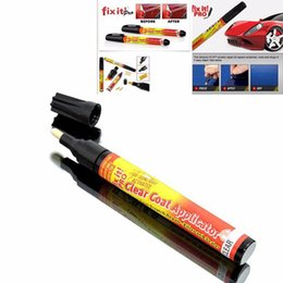 simoniz fix pen UK - Fix it PRO Car Coat Scratch Cover Remove Painting Pen Car Scratch Repair for Simoniz Clear Pens Packing styling car care