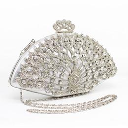Crystal designer evening bags online shopping - Designer Women Evening Bag Fashion Golden Metal Crystal Women Evening Bag Clutch Handbag Ladies Wedding Bridal Party Bag