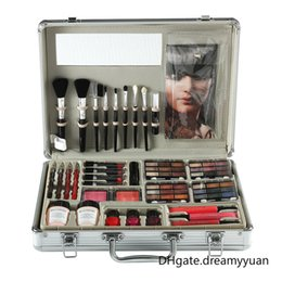 $enCountryForm.capitalKeyWord Australia - Hot Miss young make-up makeup artist makeup set, eye shadow lipstick, Cosmetic Set Nail Polish Gift Set