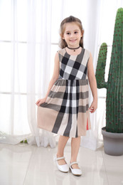 $enCountryForm.capitalKeyWord Australia - 2019 Summer Girls Dress New Style Casual Dress Cotton clothes Costume Casual sleeveless Dresses Cutea Baby Girl for 3-7 Year