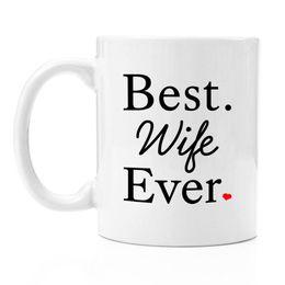 Best Wife Ever Premium 11oz Coffee Mug Set Gifts Birthday Ideas Christmas Wifely Romantic 50th Gift
