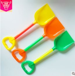 Tools Play Sand Australia - New Summer Beach Toys Children's Shovel Plastic Water Playing Sand Tools Park Place ToysHand-to-Brain Grasp Visual Interest Training