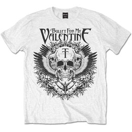 $enCountryForm.capitalKeyWord Australia - Bullet For My Valentine Bfmv Mens XL T-shirt Tee White Black Eagle Official - Cool Casual pride t shirt men Unisex