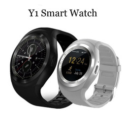 smart watch phone answering NZ - Y1 Bluetooth Smart Watch Relogio Android SmartWatch Phone Call GSM Sim Remote Camera Information Display Sports Pedometer