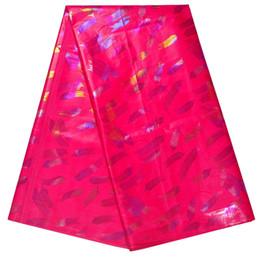 5e6f2e3607d Brocade Jacquard Fabrics UK - 5 Yards African Guinea Brocade Lace Fabric  Sets High Quality Basin