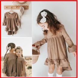 Cute Casual jumpsuits online shopping - 2019 Autumn winter Pompom Sweatshirts Cute Baby Girl Set Clothes Girls Jumpsuit Long Sleeve Lace Crochet Princess Party Tutu Dresses