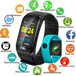 fit bit smart watch NZ - WISHDOIT Smart Sport Watch New Waterproof Watch Blood Pressure Heart Rate Detection Pedometer fit bit ios Android Fitness #284400