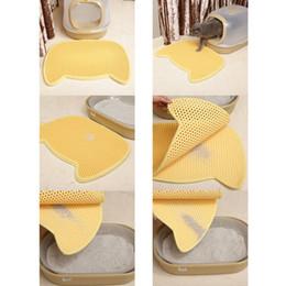 Waterproof pet pad online shopping - Cat Catcher Mats EVA Pet Cats Litter Mat Pad Cleaning Pads Cat Litter Holder Double layer Mats Waterproof Bed Pet