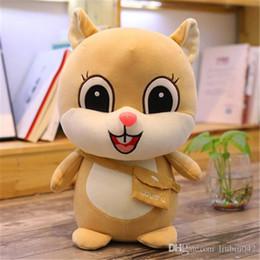 $enCountryForm.capitalKeyWord Australia - 20170709 Hot Sale Dolls Cute Squirrel Plush Toys Children Sleep Pillow Ultra Female Initiation Day Gifts Stuffed Animals