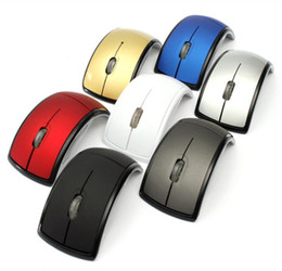 Foldable wireless optical usb mouse online shopping - Top Quality Foldable Fold Ghz Wireless Arc Optical Mouse Mice USB Receiver for PC Laptop