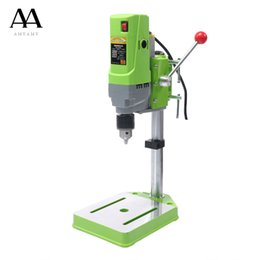 $enCountryForm.capitalKeyWord Australia - AMYAMY Mini Drilling machine Drill Press Bench Small electric Drill Machine Work Bench gear drive 220V 710W EU plug 5156E