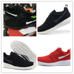 Discount olympic football - 2019 New Arrival Fashion ROSHERUN Balck Red Running Shoes High Quality Mens Olympic London Generation Trainers Classic S