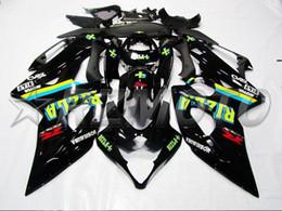 Kit Rizla Fairings NZ - 3Gifts New ABS Injection Mold motorcycle fairings kit Fit for Suzuki GSXR1000 K5 2005 2006 05 06 GSX-R1000 fairing kits cool black RIZLA+
