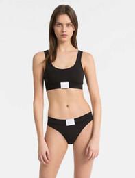 Natural Cotton Underwear Australia - Women's Bra Suit Sports Bra, Tight Underwear, Underwear, Triangle Pants and T-Pants Pure Cotton Comfortable Girl's vest