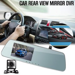 $enCountryForm.capitalKeyWord Australia - HD Night Vision 4.5 Inch Rearview Mirror Dual Lens Driving Recorder 170 Degree Wide Angle Car Driving Recorder car dvr