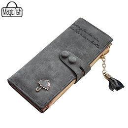 $enCountryForm.capitalKeyWord Australia - Wholesale- Women's Purse High Quality Design With Umbrella Women Wallet Long Style Luxury Design Brands Cute Girl Leather Purse