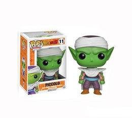 dragon ball mini toys NZ - Funko Pop Dragon Ball Z Piccolo Vinyl Action Figure With Box #393 Gift Doll Toy Good Quality
