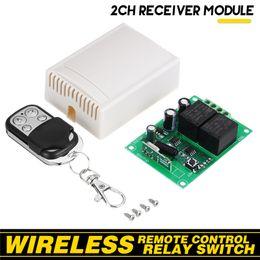 $enCountryForm.capitalKeyWord Australia - New 433Mhz Universal Wireless Remote Control Switch DC12V 1CH Relay Receiver Module + 433 Mhz Remote Controls+Box