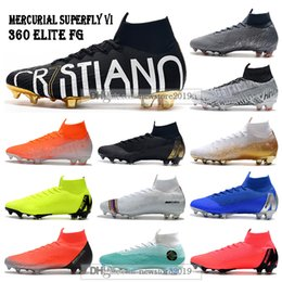 $enCountryForm.capitalKeyWord Australia - New Mens High Ankle Football Boots Superfly 6 Elite FG Soccer Shoes Cristiano Ronaldo CR7 Mercurial Superfly VI 360 Neymar ACC Soccer Cleats