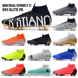 $enCountryForm.capitalKeyWord NZ - New Mens High Ankle Football Boots Superfly 6 Elite FG Soccer Shoes Cristiano Ronaldo CR7 Mercurial Superfly VI 360 Neymar ACC Soccer Cleats