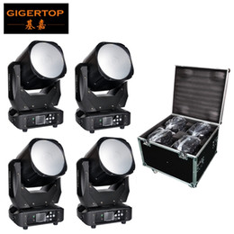 moving head case Australia - Stakable 4IN1 Flight Case Silent Rubber Wheel Led Moving Head Light 150W Wash For Stage Light Disco DJ Wedding Party Show Live