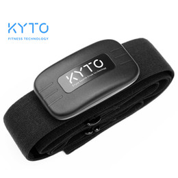 Chest monitor online shopping - KYTO Heart Rate Monitor Chest Strap Bluetooth Belt Fitness Smart Sensor Waterproof Equipment For Gym Outdoor Sports