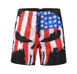 4b01efb0bff2f Free Shipping Summer Swimsuit American Flag Men'S Beach Shorts Explosion  Men'S Swimming Trunks Street Beach Pants Men'S Swimwear