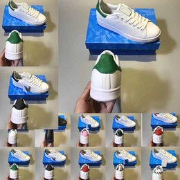 Product Brand Color Australia - new product cheap New color 2019 stan shoes fashion smith Brand Top quality mens womens new casual leather Casual shoes Shoes size eur 36-45
