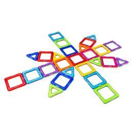 kids magnetic blocks 2019 - 72pcs 82pcs 90pcs 92cs Big Size Magnetic Kids Toys Educational 3d Magnetic Blocks Toy Diy Building Bricks Y190606 discou
