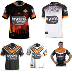 45726e36491 2019 20 Western Tigers Rugby jerseys New Zealand Rugby suit wests tigers  jersey 2019 2020 National Leagues West Tiger Home Rugby shirt