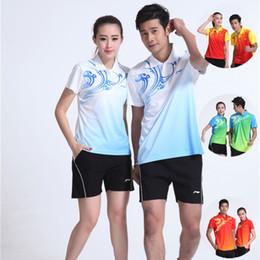 Sportswear T Shirt Badminton Australia - LND6 Li Ning Badminton Suit Sportswear for Men & Women Short Sleeve T-shirt Leisure Running Basketball casual wear Table tennis LN16303