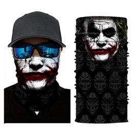 $enCountryForm.capitalKeyWord Australia - 1pcs Cycling Motorcycle Head Scarf Neck Warmer Skull Face Mask Ski Balaclava Headband Mask Scary Halloween Face sking