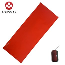 outdoor adult sleeping bags NZ - AEGISMAX Adult Outdoor Camping Travel Sleeping Bag MMT8 Thermolite Sleeping Bag Liner Warming 8 Celsius