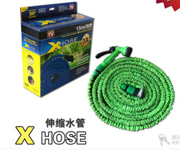 $enCountryForm.capitalKeyWord Australia - Amazon explosion model MAGIC explosion-proof cracking telescopic hose hose water pipe 25FT-100FT car wash water gun