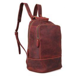 $enCountryForm.capitalKeyWord UK - Women Genuine Cow Leather Backpack Laptop Female School Bag High Quality Men Daypacks Korea Style Casual Travel Bag For Women