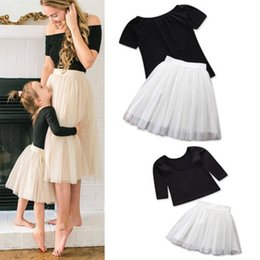 $enCountryForm.capitalKeyWord NZ - 2019 new European and American style Family Matching Outfits summer fashion mom and daughter Short dress
