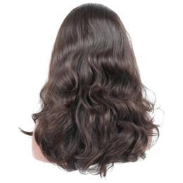 EuropEan koshEr wig online shopping - Wig Unprocessed European Virgin Hair x4 Silk Base Human Hair Wigs Natural Wavy Kosher Wigs Sports