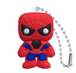 Figures Australia - New Marvel Avenger Action Figure High Quality PVC Keychain Key Ring Anime Key Chain Fashion Accessories Packed Kawaii Party Favors Kid Gift