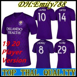 da49663f4 2019 2020 Player version MLS Orlando City Nani soccer jersey 19 20 J.MENDEZ  MUELLER COLMAN DWYER KLJESTAN PATINO football shirts
