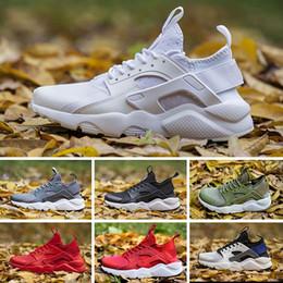 reputable site 74f0f 08682 2017 Nike Air Huarache 4 Mode Air Huarache Ultra Casual Chaussures  Huaraches Arc En Ciel Ultra Respirez Chaussures Hommes Femmes Huraches  Multicolore ...