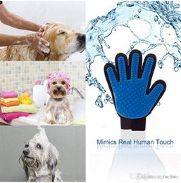 $enCountryForm.capitalKeyWord Australia - 2018 Pet Hair Glove Dog Brush Comb For Pet Grooming Dog Glove Cleaning Massage Supply For Animal Finger Cleaning Cat Hair Glove