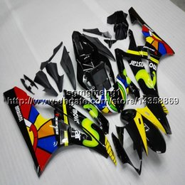 Yamaha Yzf R6 Cover Australia - Gifts+Botls Injection mold yellow green black motorcycle cover for Yamaha YZF-R6 2006-2007 06 07 YZFR6 ABSmotor Fairing