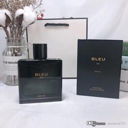 Опт Лучшие классические элегантные и свежие мужские духи одеколон 100 мл подходит для BLEU мужской духи прочного аромат премиум бесплатная доставка