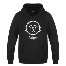 $enCountryForm.capitalKeyWord UK - Karl Pilkington Alright Cute Cartoon Sweatshirts Men Nice Mens Hooded Fleece Pullover Hoodies