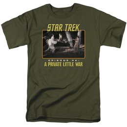 Discount star trek shirts - Star Trek TOS: Ep. 45 A PRIVATE LITTLE WAR Adult T-Shirt All Sizes Men Women Unisex Fashion tshirt Free Shipping