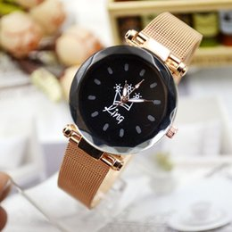Black Korean Style Glasses Australia - The New Black Faced Lady Watches Waterproof Fashion Style Korean Version Of The Simple Leisure Network With New Quartz Watch 4