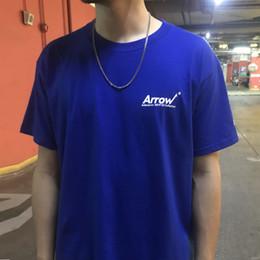 $enCountryForm.capitalKeyWord Australia - ADER error Arrow T-shirt Short Sleeve O-Neck Cotton Casual T-shirts Unisex Slid Color Kanye West Tee Top CLI0611